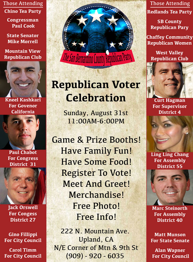 Republican Voter Celebration