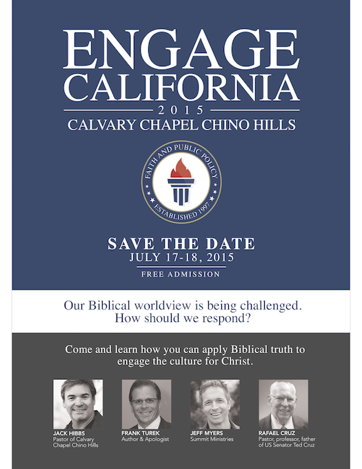 Engage California 2015 flyer Front save the date